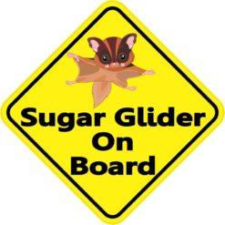 Sugar Glider On Board Magnet
