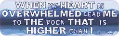 Psalm 61:2 Bumper Sticker