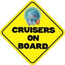Cruisers On Board Sticker