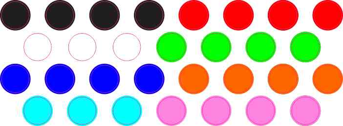 Solid Colors Home Key Button Dots™