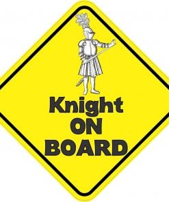 Knight On Board Magnet