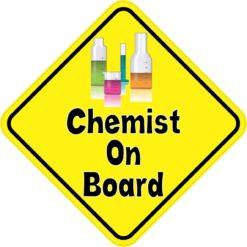 Chemist On Board Magnet