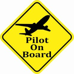 Pilot On Board Magnet