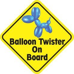 Balloon Twister On Board Magnet