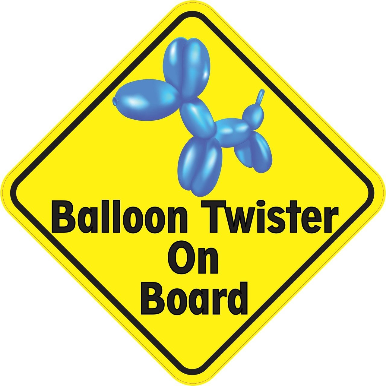 Balloon Twister On Board Magnet