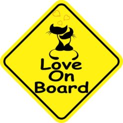 Love On Board Magnet