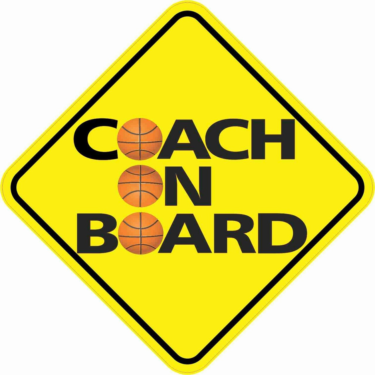 Basketball Coach On Board Magnet