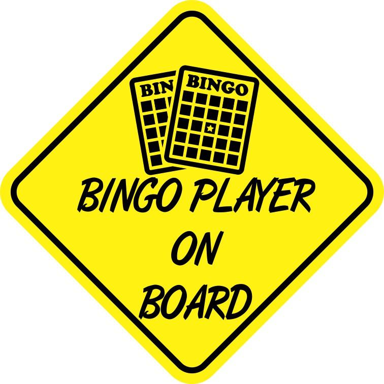 Bingo Player On Board Magnet