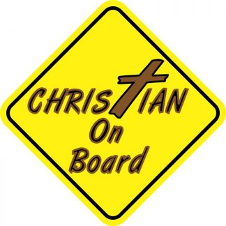 Christian On Board Magnet