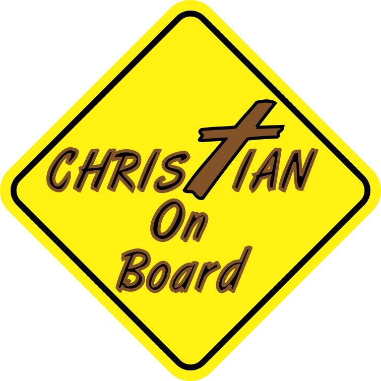 Christian On Board Magnet