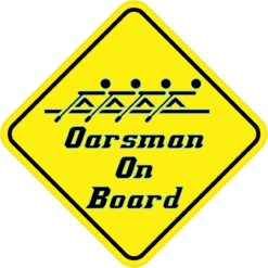 Oarsman On Board Sticker
