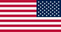Mirrored Proportional American Flag Magnet