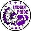 Purple Indian Pride Sticker
