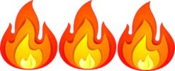 Fire Stickers