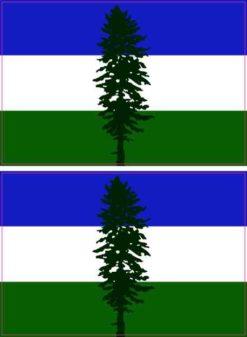 Cascadia Flag Stickers