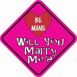 Will You Marry Me Magnet