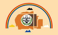 Navajo Nation Flag Sticker