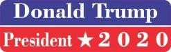 Donald Trump President 2020 Bumper Sticker