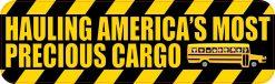 School Bus Precious Cargo Magnet