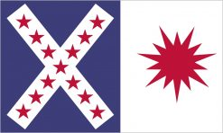 Rappahannock Cavalry Flag Sticker