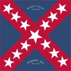 Walker Texas Division Flag Sticker
