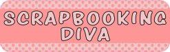 Scrapbooking Diva Bumper Sticker