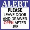 Leave Door and Drawer Open Magnet