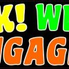 Honk We Are Engaged Bumper Magnet