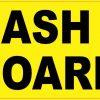 No Cash on Board Magnet
