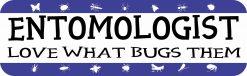 Blue Entomologist Magnet