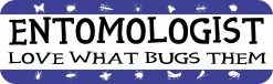 Entomologist Vinyl Sticker