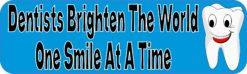 Dentists Brighten the World Magnet
