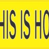 Train This Is How I Roll Bumper Sticker