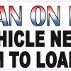 Veteran Vehicle Needs Room to Load Magnet