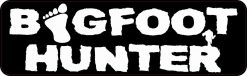 Bigfoot Hunter Bumper Sticker