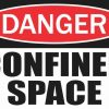 Danger Confined Space Magnet