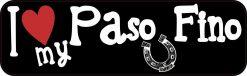 I Love My Paso Fino Magnet