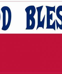God Bless Texas Magnet