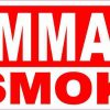 Flammable No Smoking Magnet