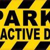 No Parking Magnet