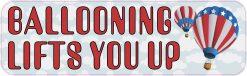 Ballooning Lifts You up Vinyl Sticker