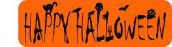 Happy Halloween Vinyl Sticker