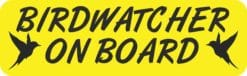 Birdwatcher on Board Magnet