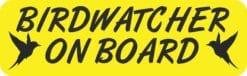 Birdwatcher on Board Magnet