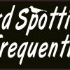 Frequently Stops Bird Spotting Vinyl Sticker