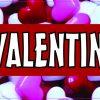 Happy Valentines Day Vinyl Sticker