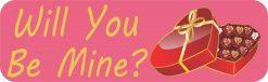 Will You Be Mine Vinyl Sticker