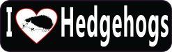 I Love Hedgehogs Magnet