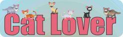 Cat Lover Vinyl Sticker