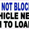 Dynamic Disability Do Not Block Door Magnet